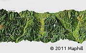 Satellite Panoramic Map of Dechang