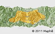 Savanna Style Panoramic Map of Dechang