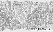 Silver Style Panoramic Map of Derong