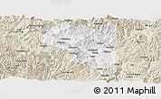 Classic Style Panoramic Map of Dukou Shiqu