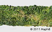 Satellite Panoramic Map of Dukou Shiqu