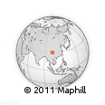 Outline Map of Ebian