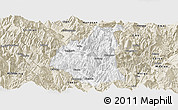 Classic Style Panoramic Map of Ganluo