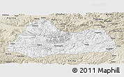 Classic Style Panoramic Map of Gulin
