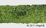 Satellite Panoramic Map of Gulin