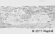 Silver Style Panoramic Map of Gulin