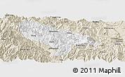 Classic Style Panoramic Map of Hanyuan