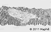 Gray Panoramic Map of Hanyuan