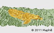 Savanna Style Panoramic Map of Hanyuan
