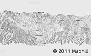 Silver Style Panoramic Map of Hanyuan