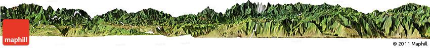 Satellite Horizon Map of Huili