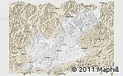 Classic Style Panoramic Map of Huili