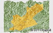 Savanna Style Panoramic Map of Huili