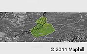 Satellite Panoramic Map of Jinyan, desaturated