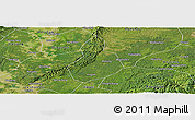 Satellite Panoramic Map of Jinyan