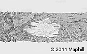 Gray Panoramic Map of Junlian