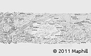 Silver Style Panoramic Map of Junlian