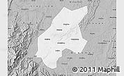 Gray Map of Leshan Shi