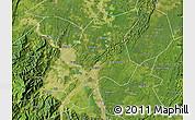 Satellite Map of Leshan Shi