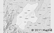 Silver Style Map of Leshan Shi