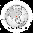 Outline Map of Leshan Shi