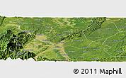Satellite Panoramic Map of Leshan Shi