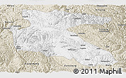 Classic Style Panoramic Map of Litang