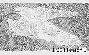 Gray Panoramic Map of Litang