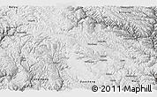 Physical Panoramic Map of Litang