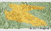 Savanna Style Panoramic Map of Litang