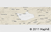 Classic Style Panoramic Map of Longchang