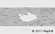 Gray Panoramic Map of Longchang