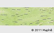 Physical Panoramic Map of Longchang