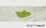 Satellite Panoramic Map of Longchang, lighten