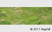 Satellite Panoramic Map of Longchang