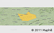 Savanna Style Panoramic Map of Longchang