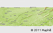 Physical Panoramic Map of Lu Xian