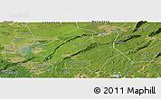Satellite Panoramic Map of Lu Xian