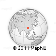 Outline Map of Mabian