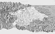 Gray Panoramic Map of Mabian