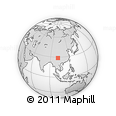 Outline Map of Mianning