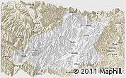 Classic Style Panoramic Map of Mianning