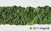 Satellite Panoramic Map of Miyi