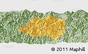 Savanna Style Panoramic Map of Miyi