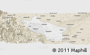 Classic Style Panoramic Map of Muchuan