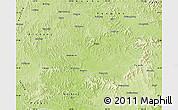 Physical Map of Nanchong