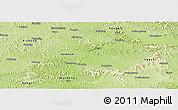Physical Panoramic Map of Nanchong