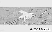 Gray Panoramic Map of Nanxi
