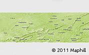 Physical Panoramic Map of Nanxi