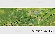 Satellite Panoramic Map of Nanxi